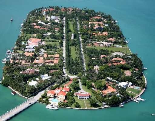 Miami Beach Star Island Homes For Sale