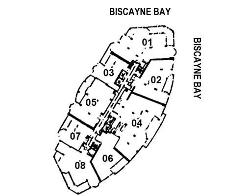 Carbonell Brickell Key Floor PlansBrickell One