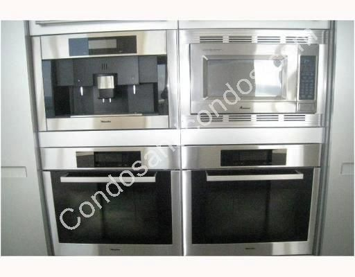 State of the art stainless steel appliances