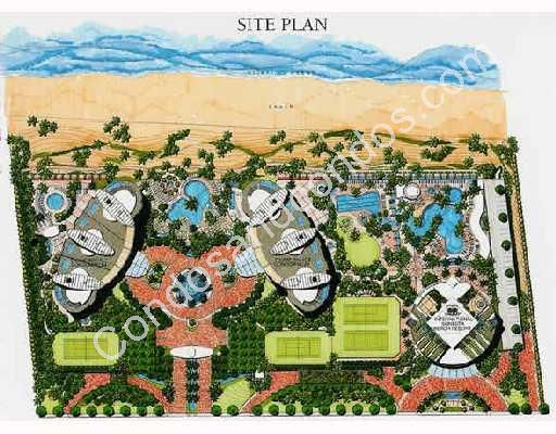 Site plan including Trump Royal