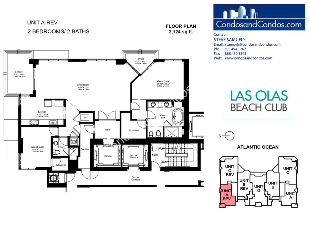 Las Olas Beach Club - Unit #A rev with 2124 SF