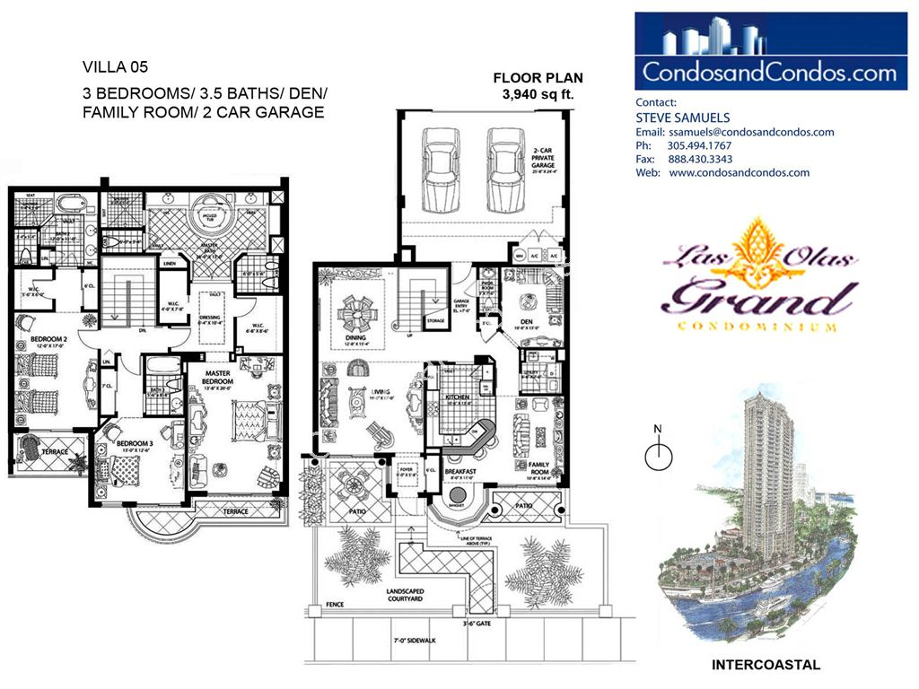 Las Olas Grand - Unit #Villa 05 with 3940 SF