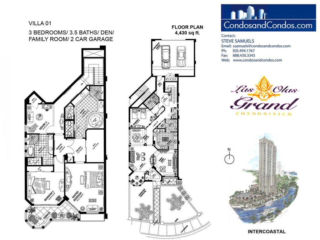 Las Olas Grand - Unit #Villa 01 with 4430 SF