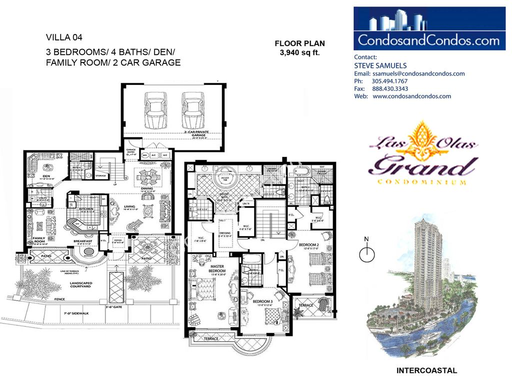 Las Olas Grand - Unit #Villa 04 with 3940 SF