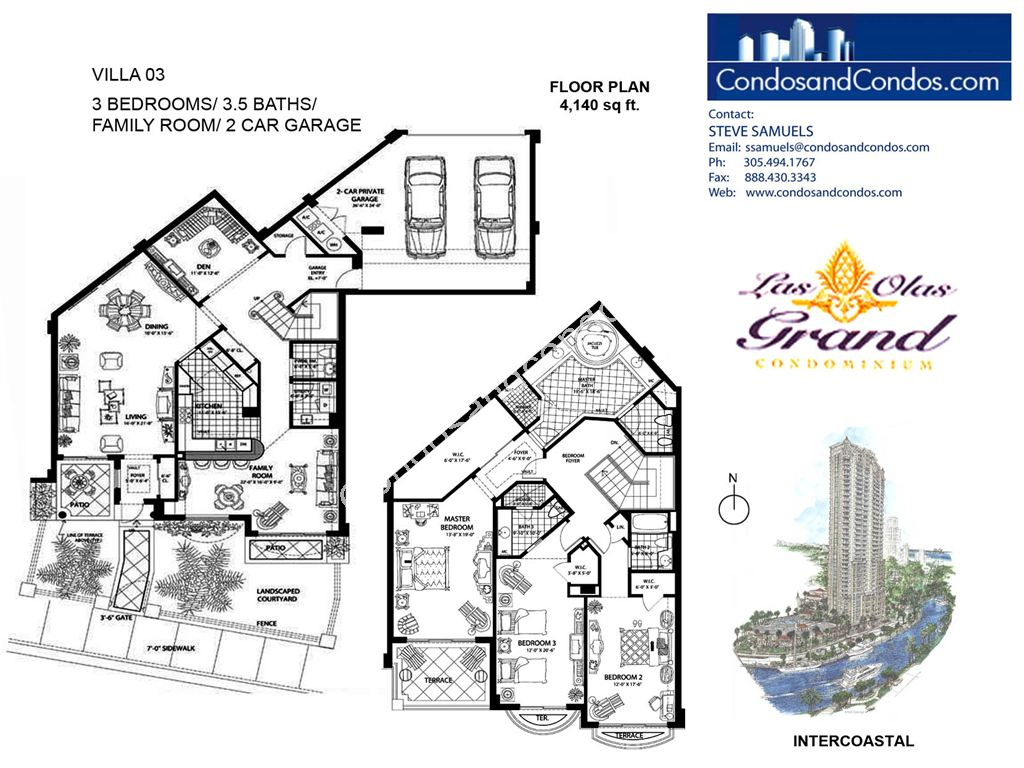 Las Olas Grand - Unit #Villa 03 with 4140 SF