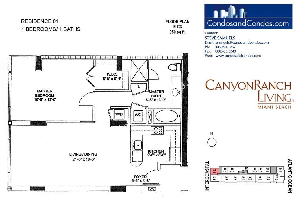 Carillon Condos For Sale 799 6801 6899 Collins Avenue Miami Beach Florida 33141