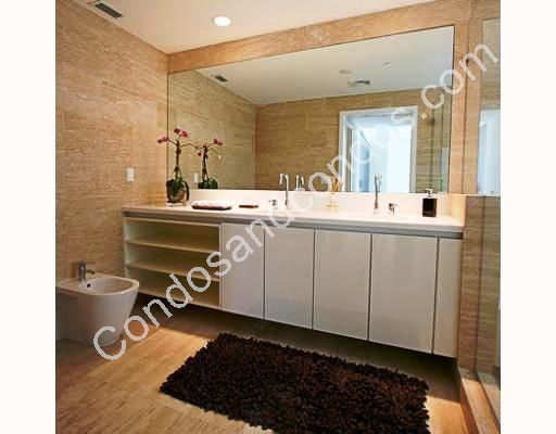 Bidet and European bathroom cabinetry