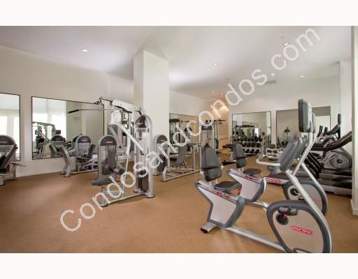 World class gym with cardiovascular equipment