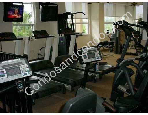 Cardio equipment in the Health Club