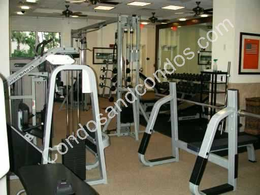 World class fitness facility with weight training equipment