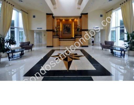 Grand lobby with marble floors