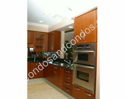 Stainless steel appliances and serving window
