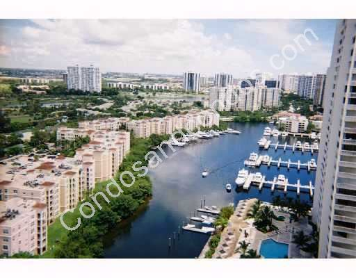 Marina opens into the Intracoastal Waterway