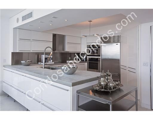 European Kitchens with stainless steel appliances