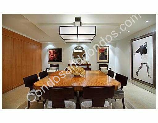 Large modern dining room