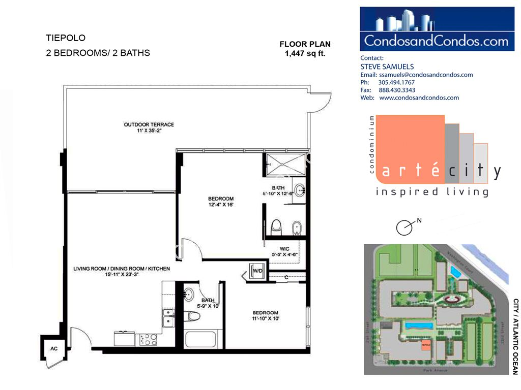 Artecity - Unit #Tiepolo with 1447 SF