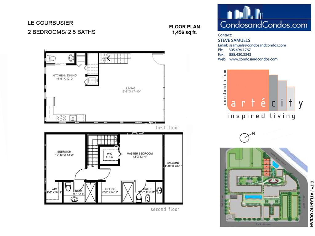 Artecity - Unit #Le Courbusier with 1456 SF