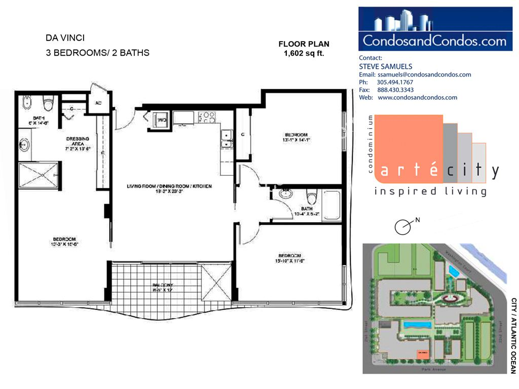 Artecity - Unit #Da Vinci with 1602 SF