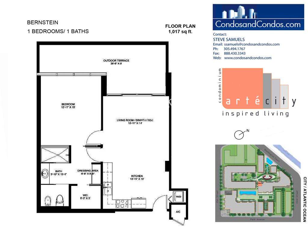 Artecity - Unit #Bernstein with 1017 SF