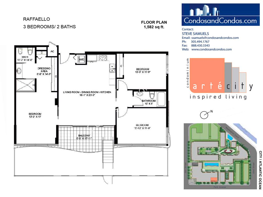 Artecity - Unit #Raffaello with 1582 SF