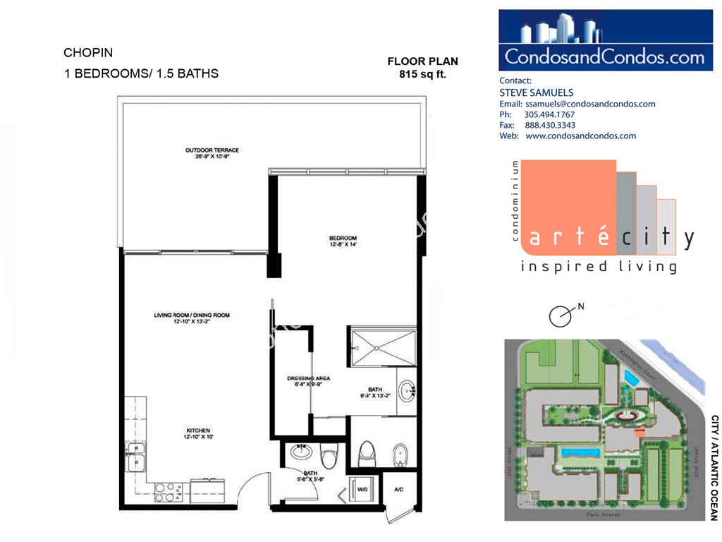 Artecity - Unit #Chopin with 815 SF