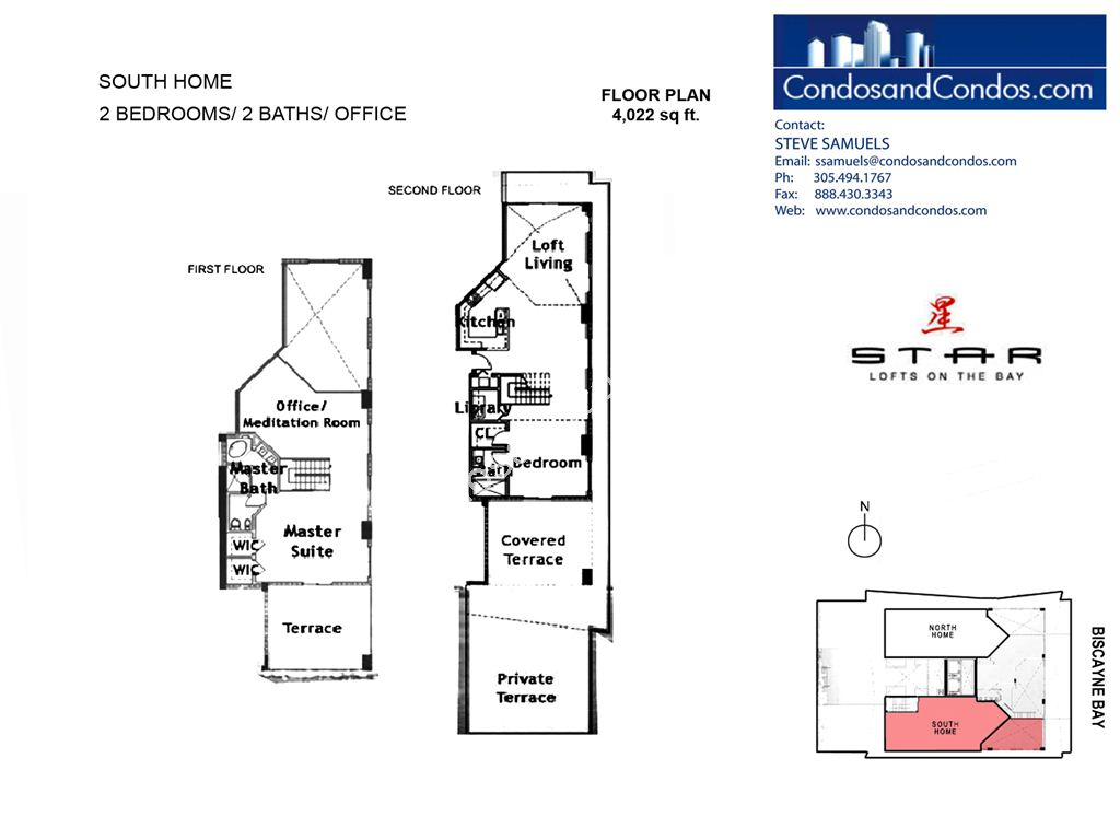 Star Lofts - Unit #South Home with 4022 SF