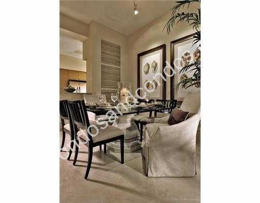 Formal dining room just off the kitchen