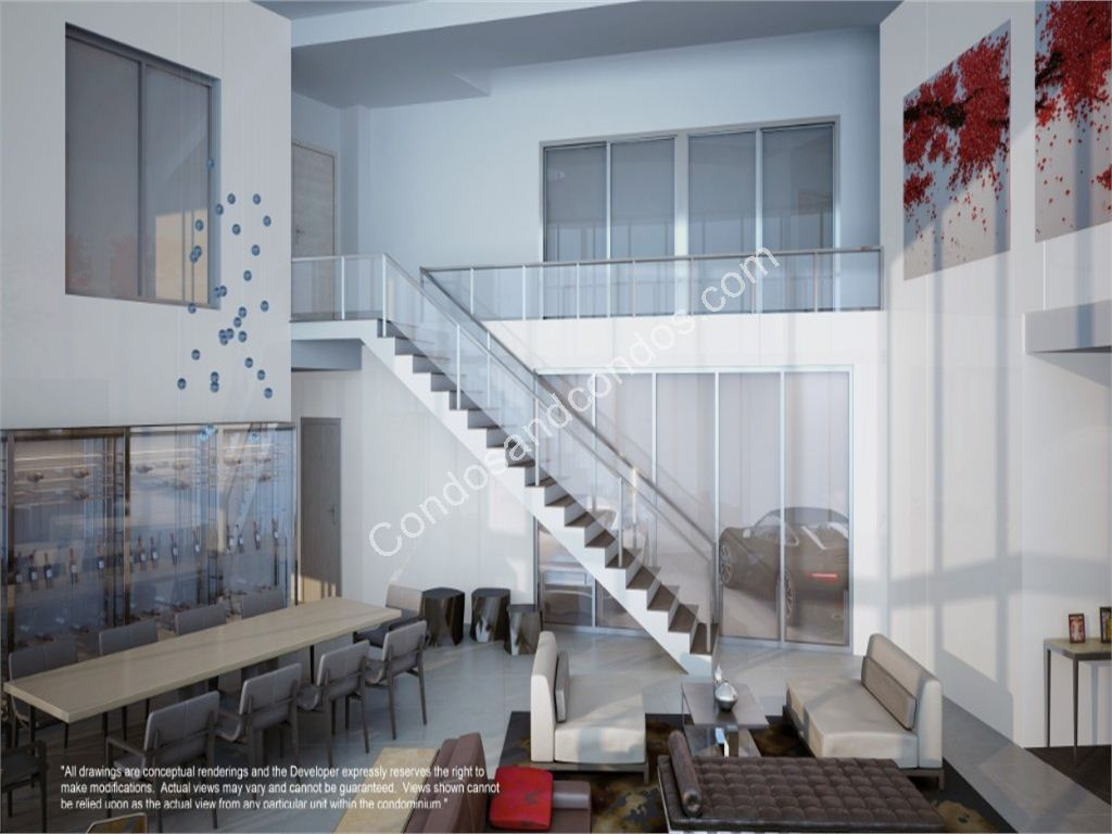 2 Story Unit in Porsche Design Tower Miami