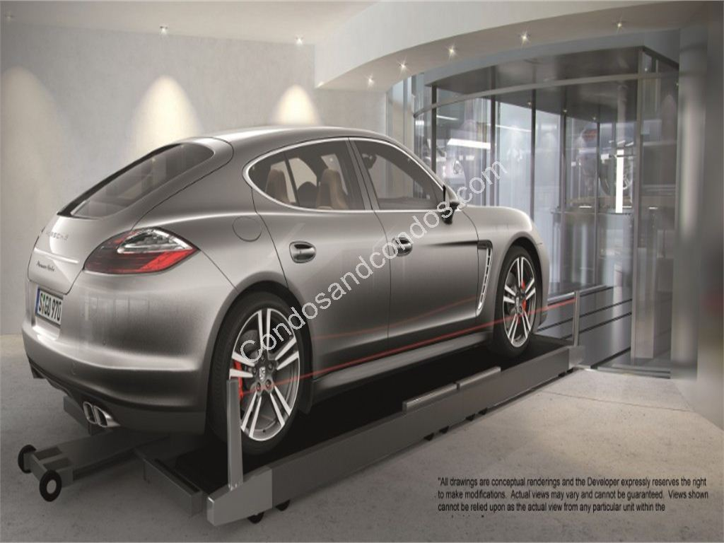 Car Elevators that take residents directly to their unit