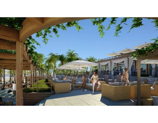 Private 3 Story Beach Club Right On The With Pool And Restaurants For All Hyde House Residents