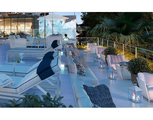 Rooftop Sunset Lounge and pool with expansive roof-top sky deck refreshments and wireless internet