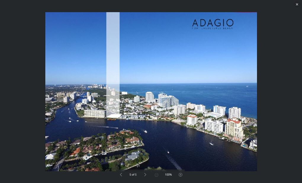 ADAGIO Fort Lauderdale Beach Condo for Sale
