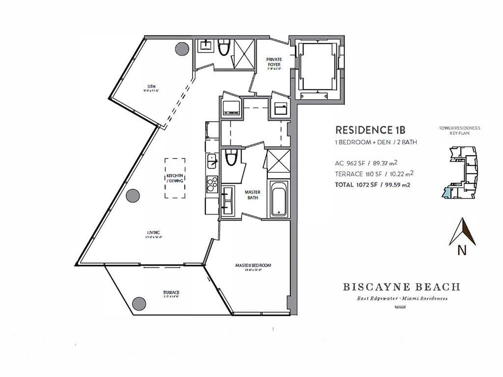 Biscayne Beach Condos 2900 Ne 7th Ave Miami Fl 33137