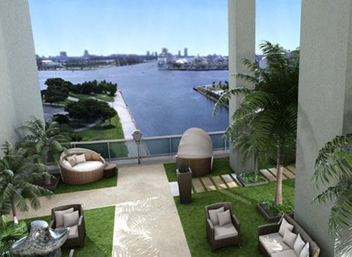Grounds of 900 Biscayne Bay