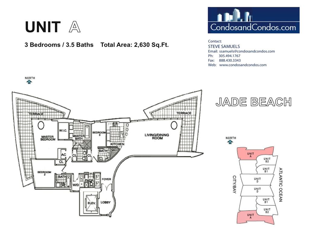 Jade Beach - Unit #A with 2630 SF