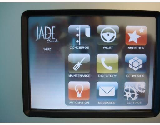 Smart Home technology with wireless touch screen monitor