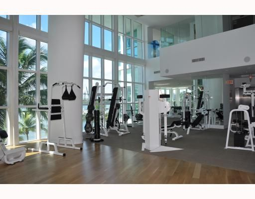 Exclusive Two Story state-of-the-art Fitness Center complete with Spa & Sauna