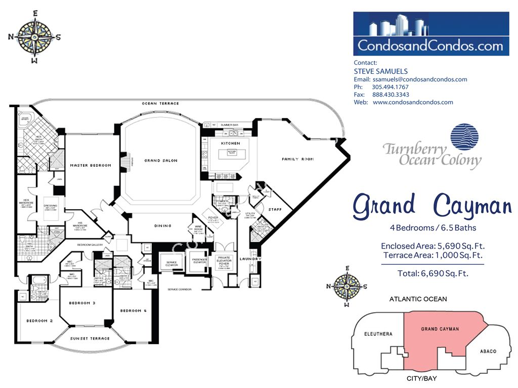 Turnberry Ocean Colony North - Unit #Grand Cayman with 6690 SF