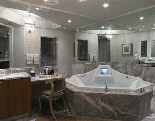 Jacuzzi whirlpool hydrotherapy tub with built-in TV