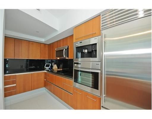 Stainless steel appliances, wine cooler and cappuccino maker