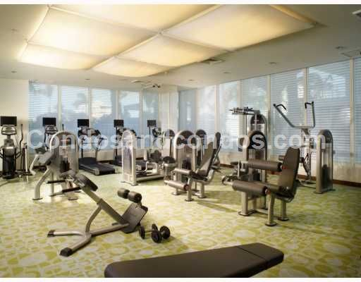 State-of-the-art fitness center with aerobic/yoga studio