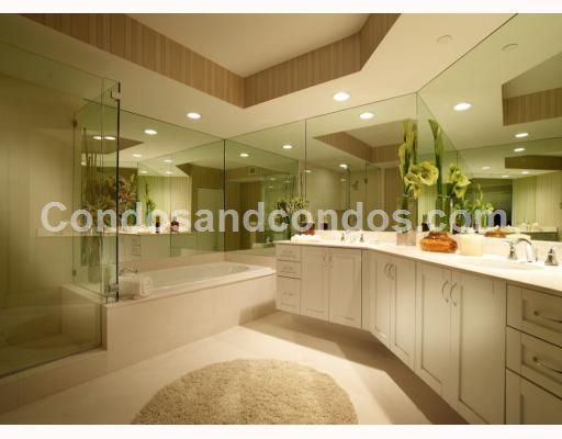 Master bath with luxurious soaking tub
