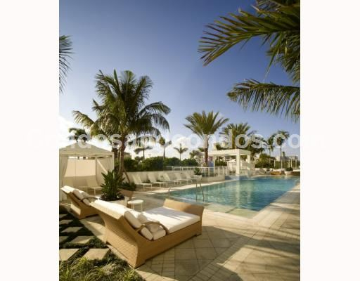 Beautiful cabanas situated near the pool