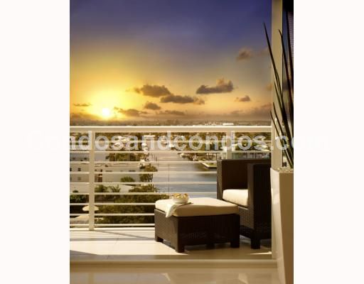 Private balconies with stunning views