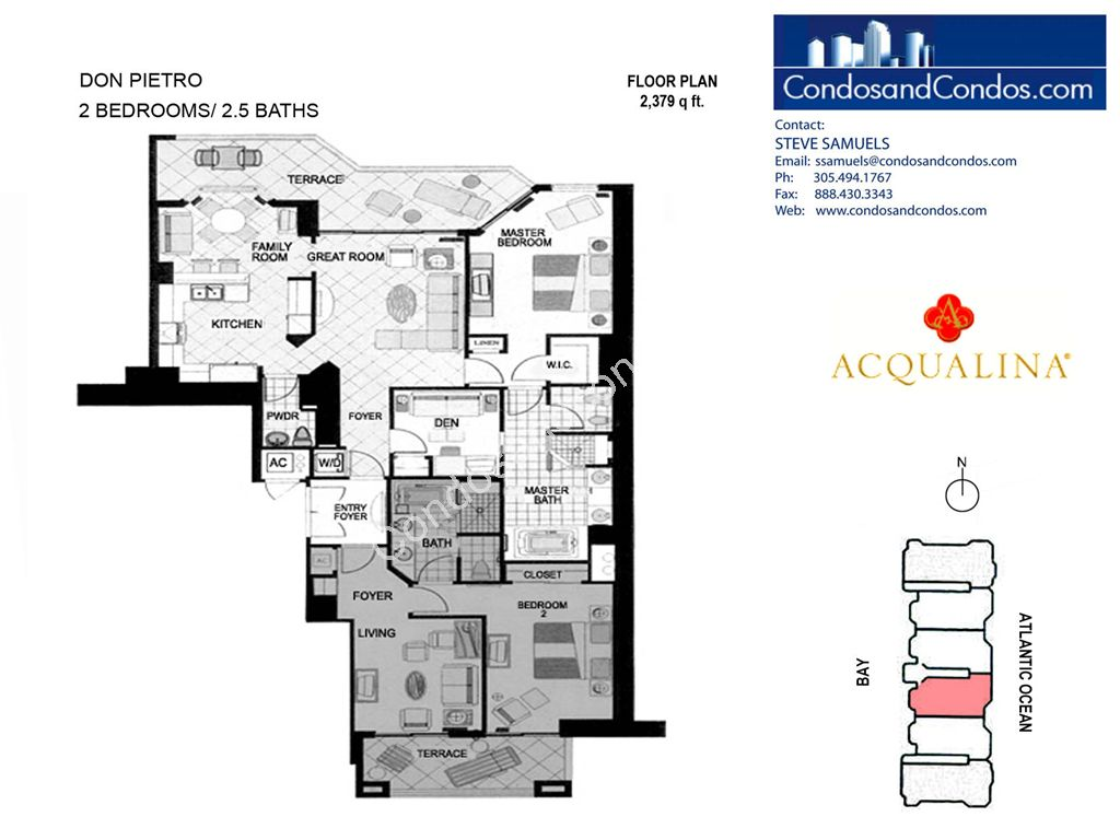 Acqualina - Unit #Don Pietro 04 with 2379 SF