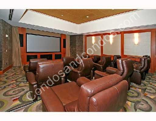 Private theater and conference room