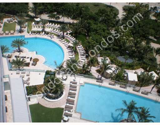 One Bal Harbour's expansive pools