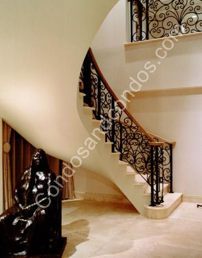 Beautiful spiral staircases