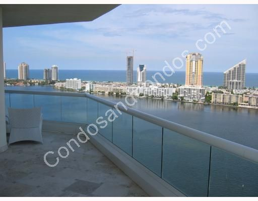 Dumbfoundling Bay, City of Aventura and Atlantic Ocean all from your balcony