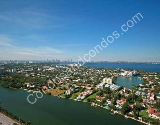 Spectacular views of the ocean, Intracoastal and the Miami skyline